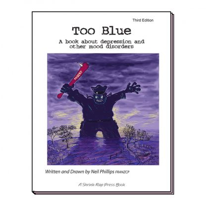 Image of Too Blue book cover